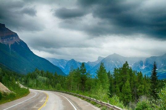 road through Jasper