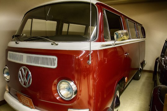 yes, a pristine VW bus.